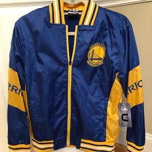 Brand new with tags Golden State Warriors jacket